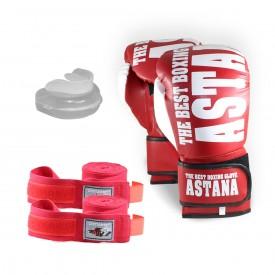 Astana Boks Seti Kırmızı Renk (Ücretsiz Kargo)