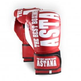 Astana Training Boks Eldiveni Kırmızı 10 Oz