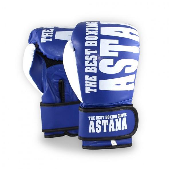 Astana Training Boks Eldiveni Mavi 10 Oz