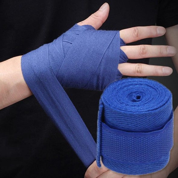 Boks Bandajı Mavi