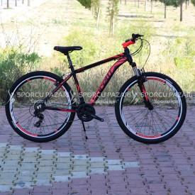 Corelli Snoop 3.1 Siyah Neon Kırmızı 27.5 Jant Dağ Bisikleti (Ücretsiz Kargo)