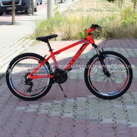 Corelli Snoop 3.2 Neon Kırmızı 24 Jant Dağ Bisikleti
