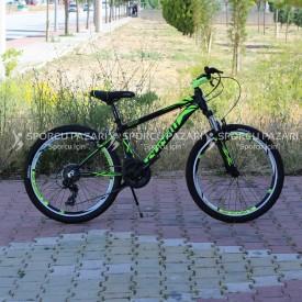 Corelli Snoop 3.2 Siyah Neon Yeşil 24 Jant Dağ Bisikleti