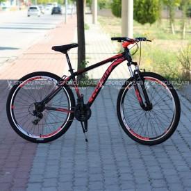 Corelli Snoop 3.4 Siyah Neon Kırmızı 29 Er Dağ Bisikleti