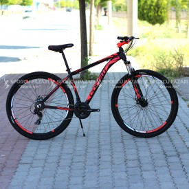 Corelli Snoop 4.3 Siyah Neon Kırmızı 29 Er Dağ Bisikleti