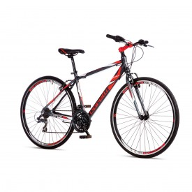 Corelli Trivor 1.0 Tur Bisikleti Antrasit Kırmızı Beyaz (ÜCRETSİZ KARGO)