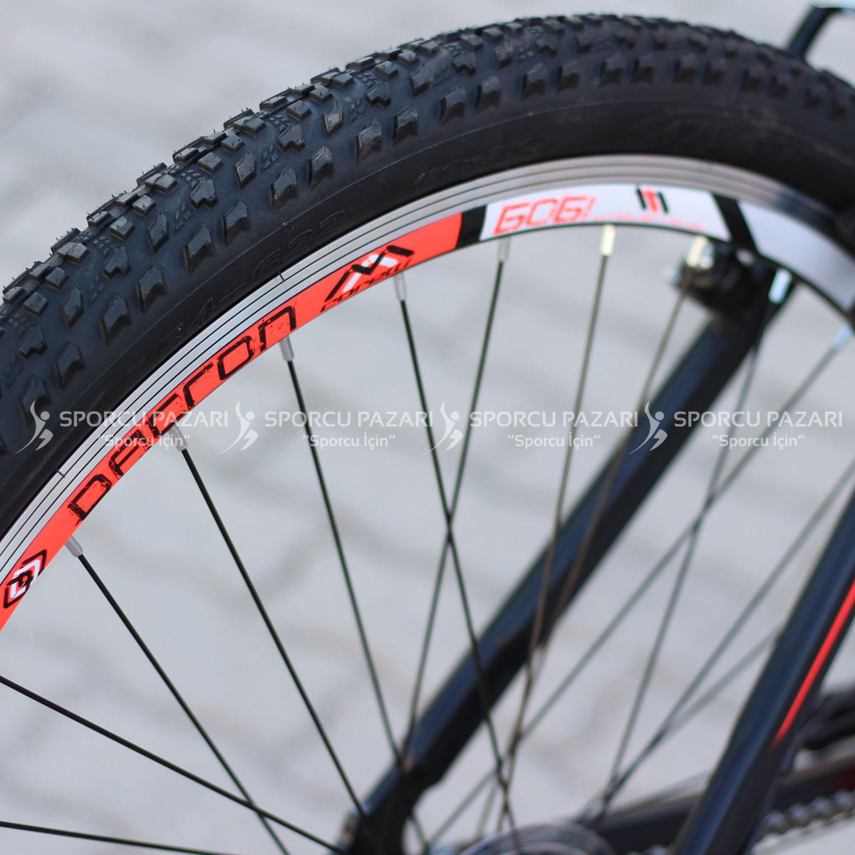 Corelli Snoop 3.4 Siyah Neon Kırmızı Dağ Bisikleti